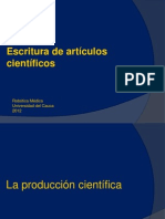 Escribir artículo científico