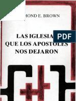 Brown, Raymond e - Las Iglesias Que Los Apostoles Nos Dejaron