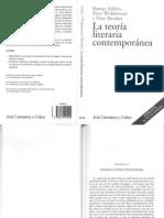 Selden, Raman - Teorías estructuralistas