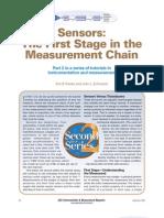 Sensores - La Primera Etapa en La Cadena de Medicion