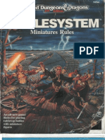AD&D Battlesystem Miniatures Rules