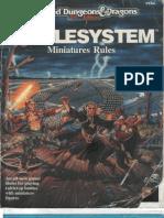 AD&D Battlesystem Miniatures Rules
