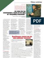 Entrevista publicada en revista ANUNCIOS
