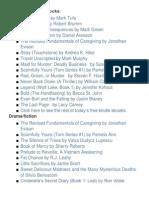 Kindle & E-book Downloads (5/22)