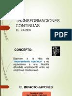 TRANSFORMACIONES CONTINUAS