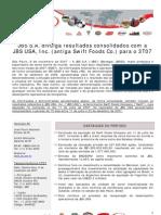 Press-release referente ao 3T07
