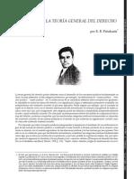 Pasukanis - Finalidad de la teoría general del derecho