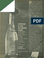 Violencia La Voz Del Ghetto. Caballero Junio 1966.