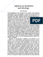 Brooks, David - Eagleton on Aesthetics and Ideology