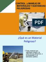 Control de Materiales Peligrosos Hoja MSDS