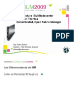 Arquitectura y Configuracion en IBM Blade Center Revision Tecnica Conectividad y Open Fabric