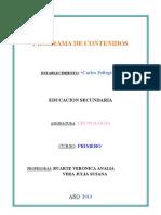 TECNOLOGIA 1° 2° Y 3°.doc