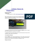 Arduino Sensor Temp
