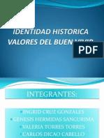 Identidad Historica y Valores Del Buen Vivir