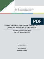 V19-CIER Informe Precios MEM 2012