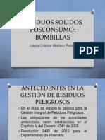 RESIDUOS SOLIDOS POSCONSUMO