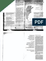 Angueira, Maria Del C., El Proyecto Confederal...Intelectuales..