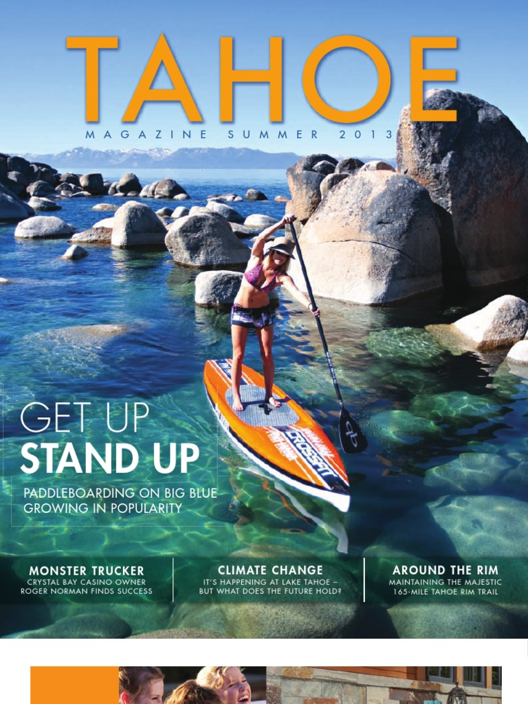 Tahoe Magazine Summer 2013 | Lake Tahoe | Trail