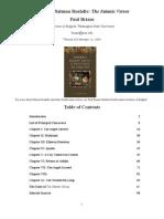Satanic Verses Notes | Ruhollah Khomeini | Muhammad