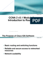 CCNA 2 v3.1 Module 2 Introduction to Routers
