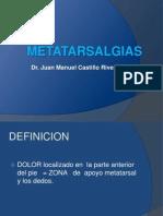 Metatarsalgias