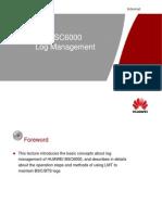 OMD600200 HUAWEIBSC6000 log Management ISSUE1.0ú¿V9R8)