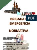 2 Clase Brigada de Emergencia