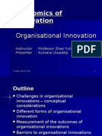 Innovation Economics - Presentation 1