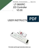 controlador LT3600