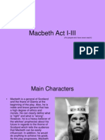 Assignment#3 Macbeth presentation