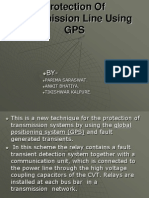 Protection of Transmission Line Using GPS