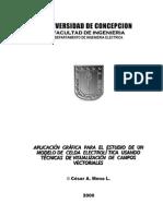 Aplicación Gráfica para el estudio de un Modelo de Celda Electrolítica usando Técnicas de Visualización de Campos Vectoriales