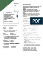 Examen 4to Bimestre Cuarto Grado1