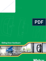 Whitco Sliding Door Hardware Catalogue