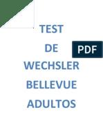 Test Wechsler Libro