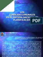 Ley Consejos Comunales en El Sistema Nacional de Planificacion