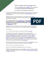 Concordancias de La Constitucion Del Ecuador