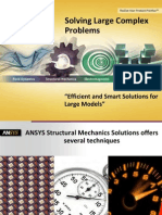 Ansys WB Solving Large Complex Problems