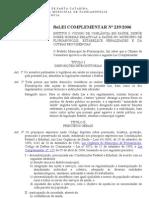 Florianopolis - Codigo Vigilancia Saude