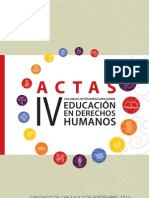 Acta IV Coloquio Final