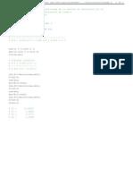 Fraccion Continuada en Matlab Para Filtros Pasivos  Butterworth de orden 4