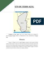 Distrito de Cerro Azul