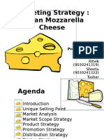 Mozzarella Cheese Marketing Strategy
