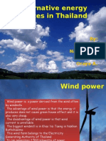 alternative energy sources in thailand