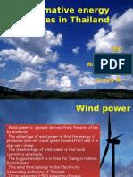 alternative energy sources in thailand