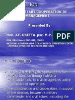 Civil MilitaryDisasterManagement