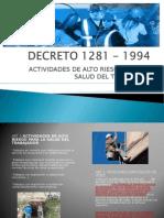 DECRETO 1281 - 1994