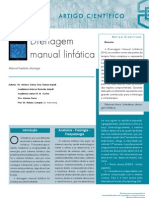 Drenagem Linfática Manual