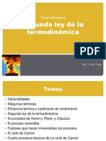 5. Segunda Ley de La Termodinamica