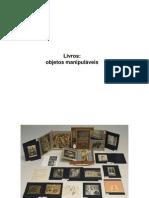 Livro objeto (manipulável)